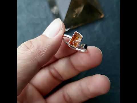 黃水晶原礦戒指[ DCT Collection ]