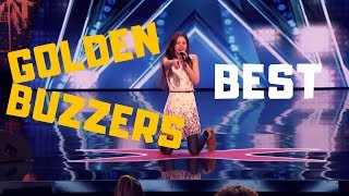 "Top 3 BEST ""GOLDEN BUZZERS"" AUDITIONS EVER ON America's Got Talent 2017 - 2018!"