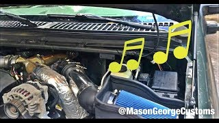 Ford 7.3 Ebay L3 Racing Cold Air Intake How To & Review