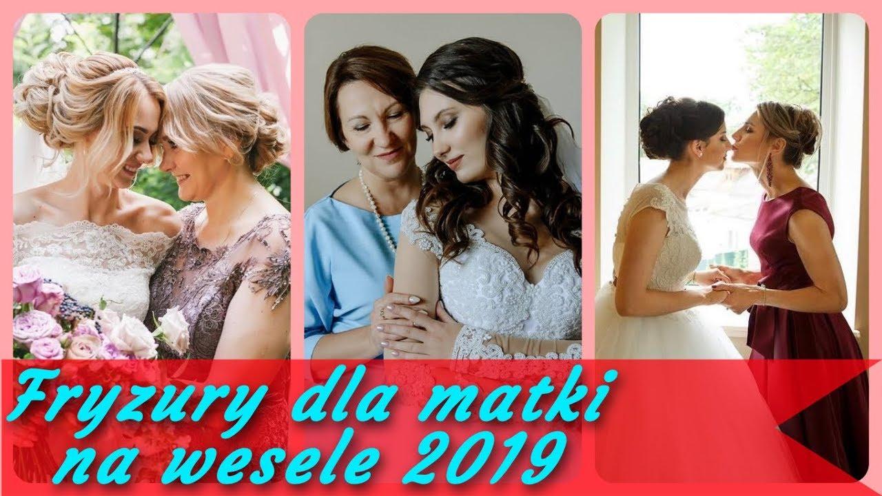20 Pomysłów Na Modne Fryzury Dla Matki Na Wesele 2019