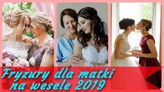 20 💋 pomysłów na modne fryzury dla matki na wesele 2019