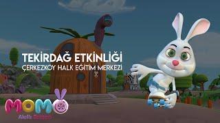 Akıllı Tavşan Momo Tekirdağ  Etkinliği - 8 Şubat 🎉