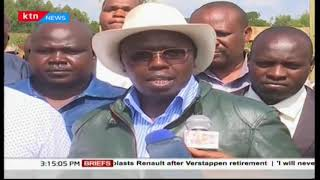 Locals protest against state of roads in Uasin Gishu County