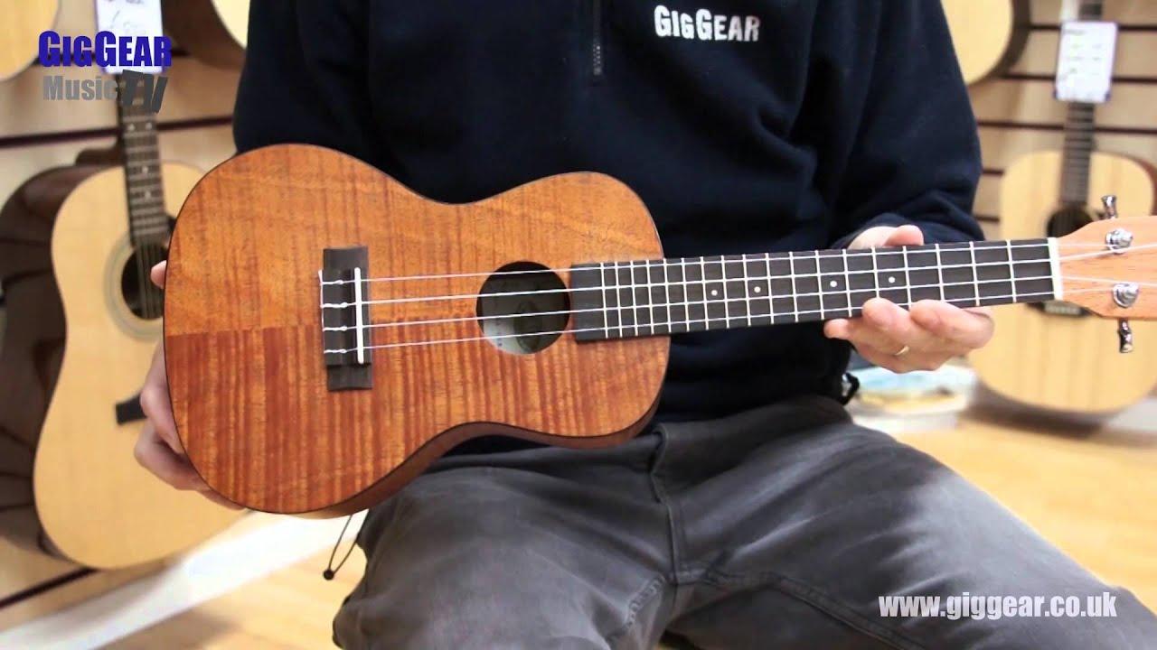 kala ukulele ka cem exotic mahogany concert uke youtube. Black Bedroom Furniture Sets. Home Design Ideas