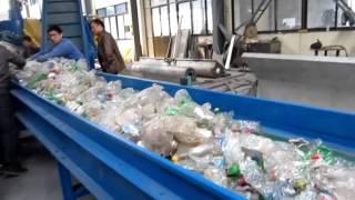 Линия переработки ПЭТ бутылок(, 2013-02-28T07:23:12.000Z)