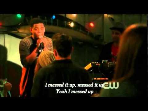 Dixon singing to Adriana  90210 LYRICS