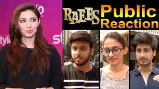 PUBLIC Reaction On Mahira Khan's FIRST Film in India - After Watching RAEES