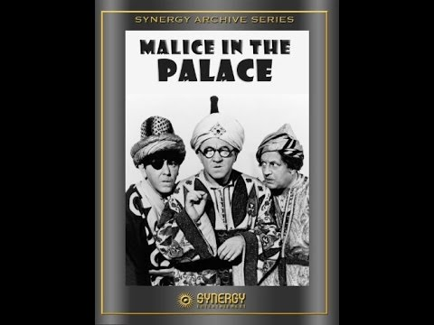 Malice in the Palace | Three Stooges | Short Film