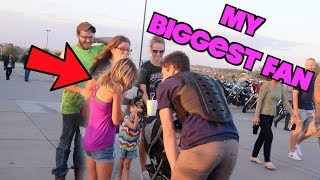 WE MADE HER CRY! | SOMEONE KICKS CONE IN KEITHS FACE! | MEETING KEITHS BROTHER!