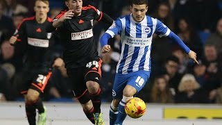 EXTENDED HIGHLIGHTS: BRIGHTON & HOVE ALBION 1 FULHAM 2