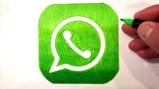How to Draw the WhatsApp Logo