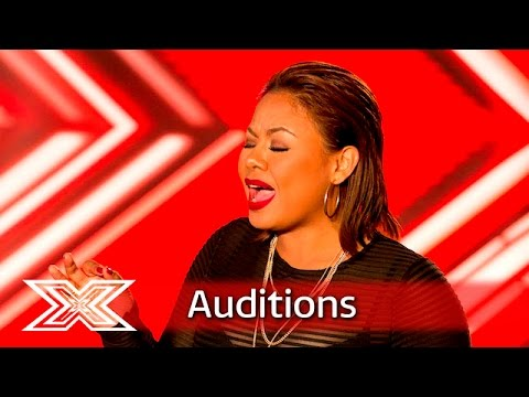 Ivy Grace Paredes jets in for the Judges | Auditions Week 3 | The X Factor UK 2016
