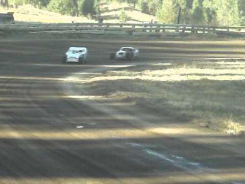 Eagle Track Raceway Modified A Trophy Dash Part 1 Sept 20th 2014