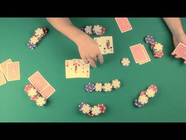 Como jogar poker (revisão de todo o que foi ensinado)