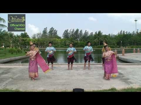 รำกลองยาว - Thai tom-tom parade (Ram Klong Yao)