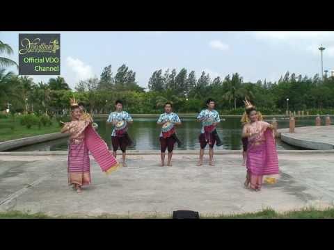 รำกลองยาว - Thai tom-tom parade (Ram Klong Yao)