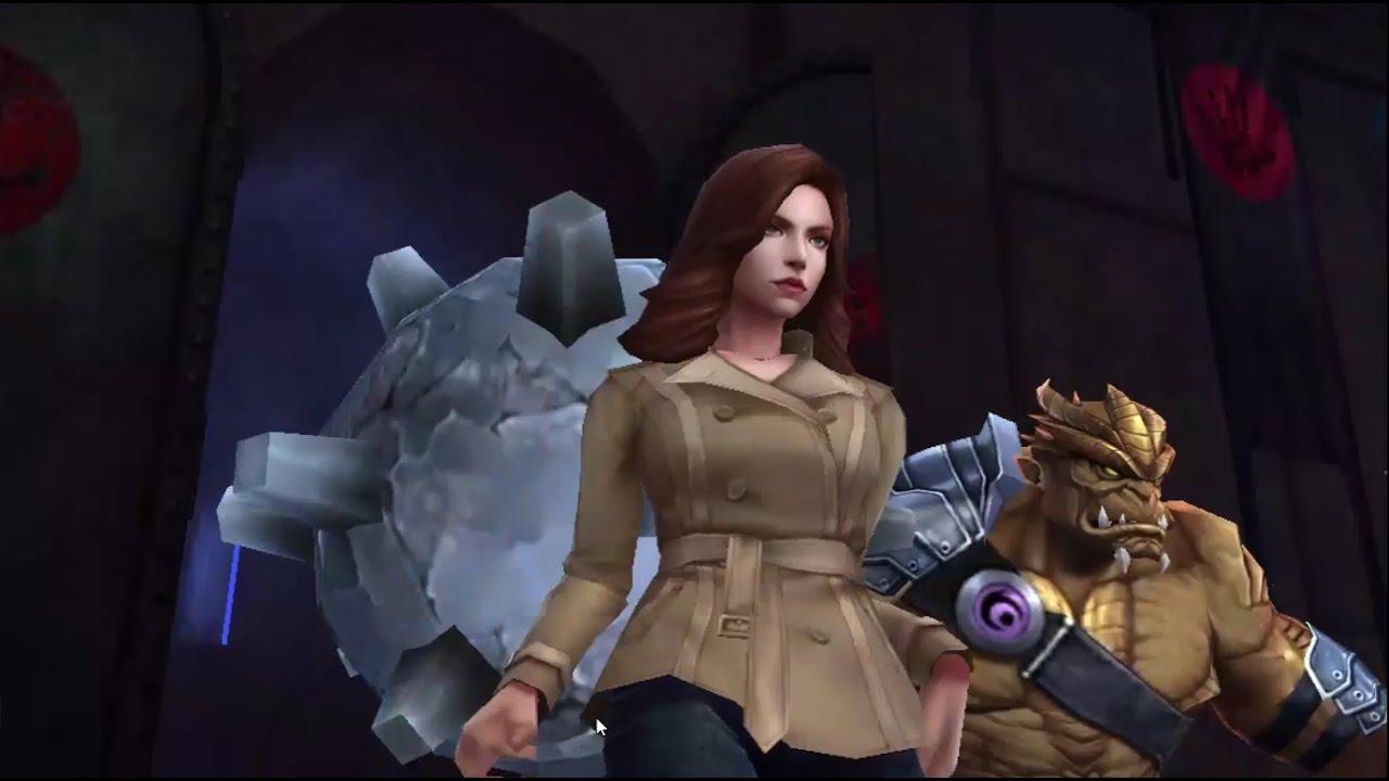 Shadowland Floor 3 T1 Black Widow Vs Iron Man Blast Relay