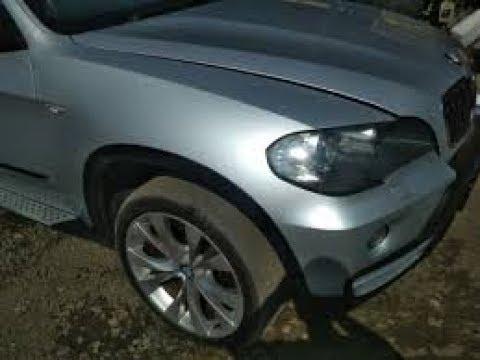 КАК СНЯТЬ ПЕРЕДНЕЕ КРЫЛО BMW X5 E70