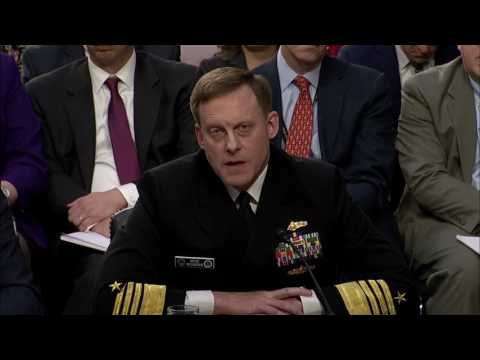 Rodgers says he's never felt pressured to do anything inappropriate as NSA director