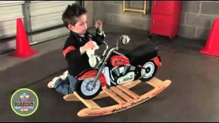 Moto à bascule Harley-Davidson- Kidkraft - decobb.com