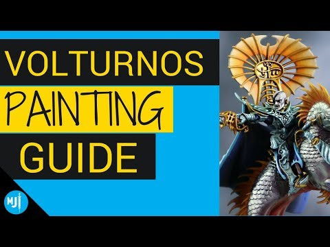 How to Paint Volturnos from Idoneth Deepkin - Warhammer Age of Sigmar Painting Guide