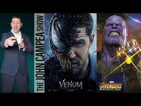 Avengers Infinity War Reviews, Venom Poster - The John Campea Show