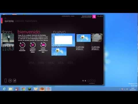 como descargar zune para windows 8