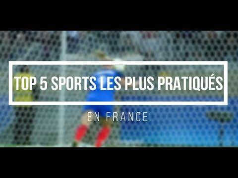 TOP 5 SPORTS LES PLUS PRATIQUÉS EN FRANCE