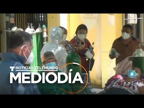 Coronavirus: En Honduras colapsan los hospitales debido a la pandemia | Noticias Telemundo