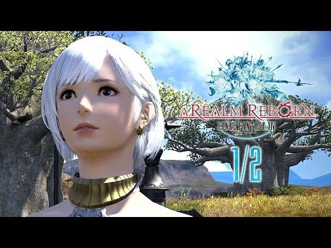 Final Fantasy XIV 2.0: A Realm Reborn – Game Movie (All Cutscenes / Story Walkthrough) 1080p HD 1/2