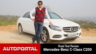 Mercedes-Benz C-Class C200 Test Drive Review - Autoportal
