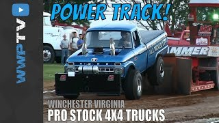 PRO STOCK 4X4 TRUCKS pulling at SUMMER NATIONALS from Winchester May 2013 DRAGON MOTORSPORTS