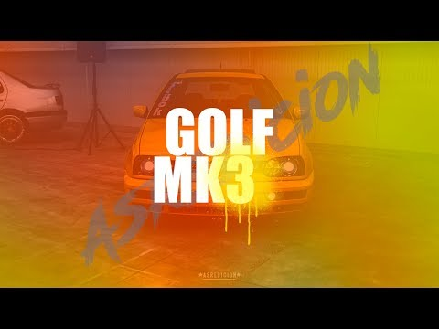 GOLF MK3 YELLOW BAGGED