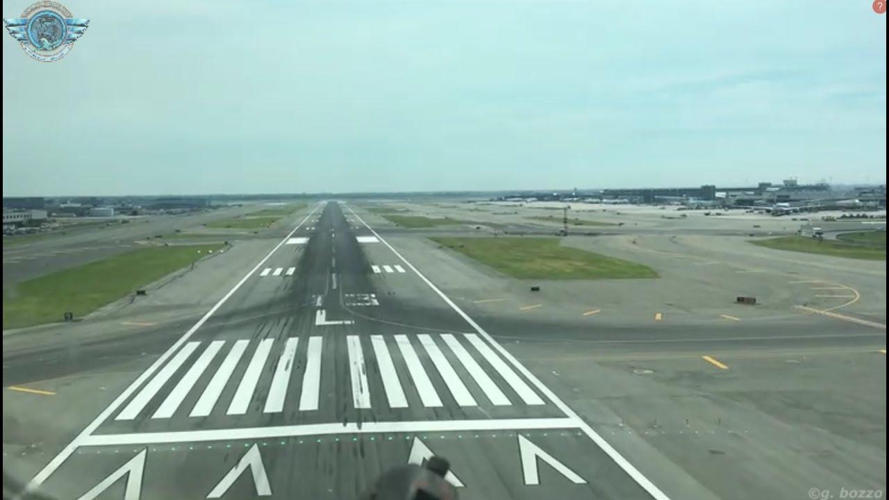 Así Se Vive el Aterrizaje a Nueva York (JFK) en Cabina de Mando