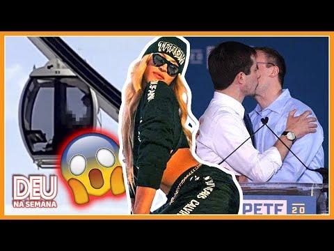 COACHELLA: 🔥CASAL na Roda Gigante + PABLLO Vittar  EUA: Presidente GAY?  Malhação - Deu Na Semana
