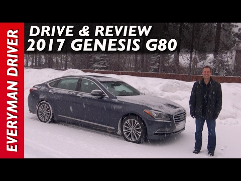 In the Snow Here s the 2017 Genesis G80 Review on Everyman Driver