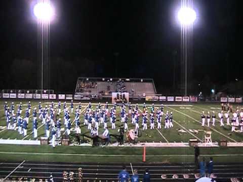Ripley High School Marching band 2012