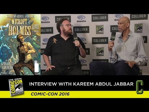 Kareem Abdul-Jabbar Talks About His Comic Book Mycroft Holmes - San Diego Comic Con 2016