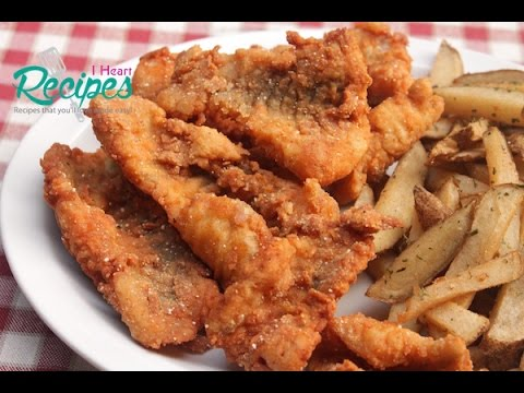 Spicy Deep Fried Catfish - Southern & Soul Food Recipes - I Heart Recipes
