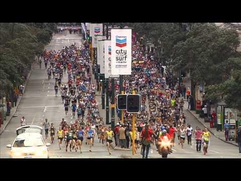 2013 Perth City To Surf Marathon