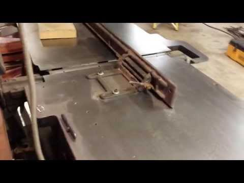 """American 30"""" Jointer"""