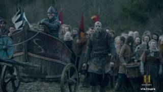 Vikings - The Battle Between Ragnar's Sons And Aethelwulf P2 [Season 4B Official Scene] (4x19) [HD]