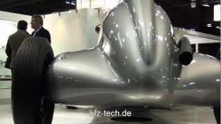 Audi e-tron Concept - 1936 Auto Union Type C Grand Prix car Videos