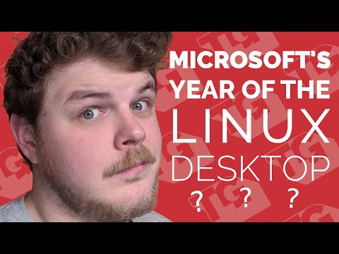 "Did Microsoft just OFFICIALLY make 2019 the year of the ""Linux Desktop?"""