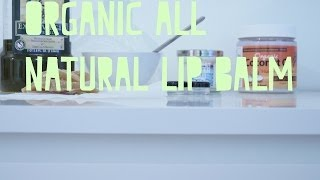 diy // all natural lip balm Thumbnail