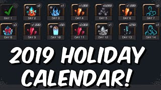 2019 Holiday Calendar! - A Bit Disappointing? Review & Opening! - Marvel Contest of Champions