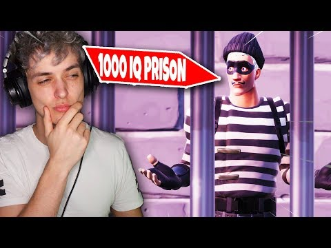 *1000 IQ* ULTIEME PRISON ESCAPE ROOM in Fortnite Creative Gamemeneer (Nederlands)