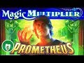 ⭐️ NEW - Prometheus Magic Multiplier slot machine, 2 sessions, bonus