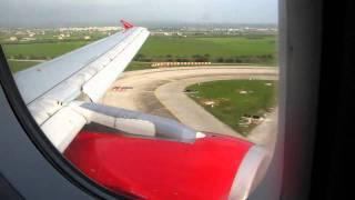 Air Berlin A319 landing at Palma de Mallorca Son San Juan