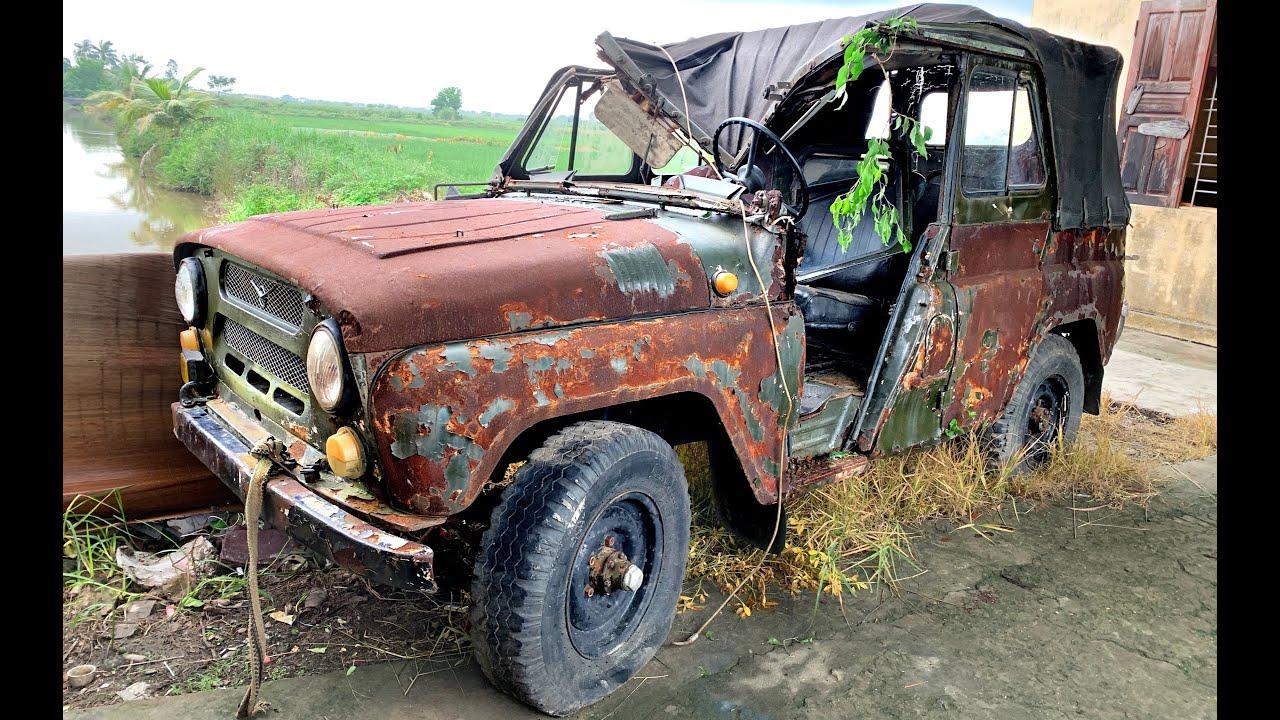 Full restoration ancient UAZ 469   Restoring and repair antique uaz 469 cars